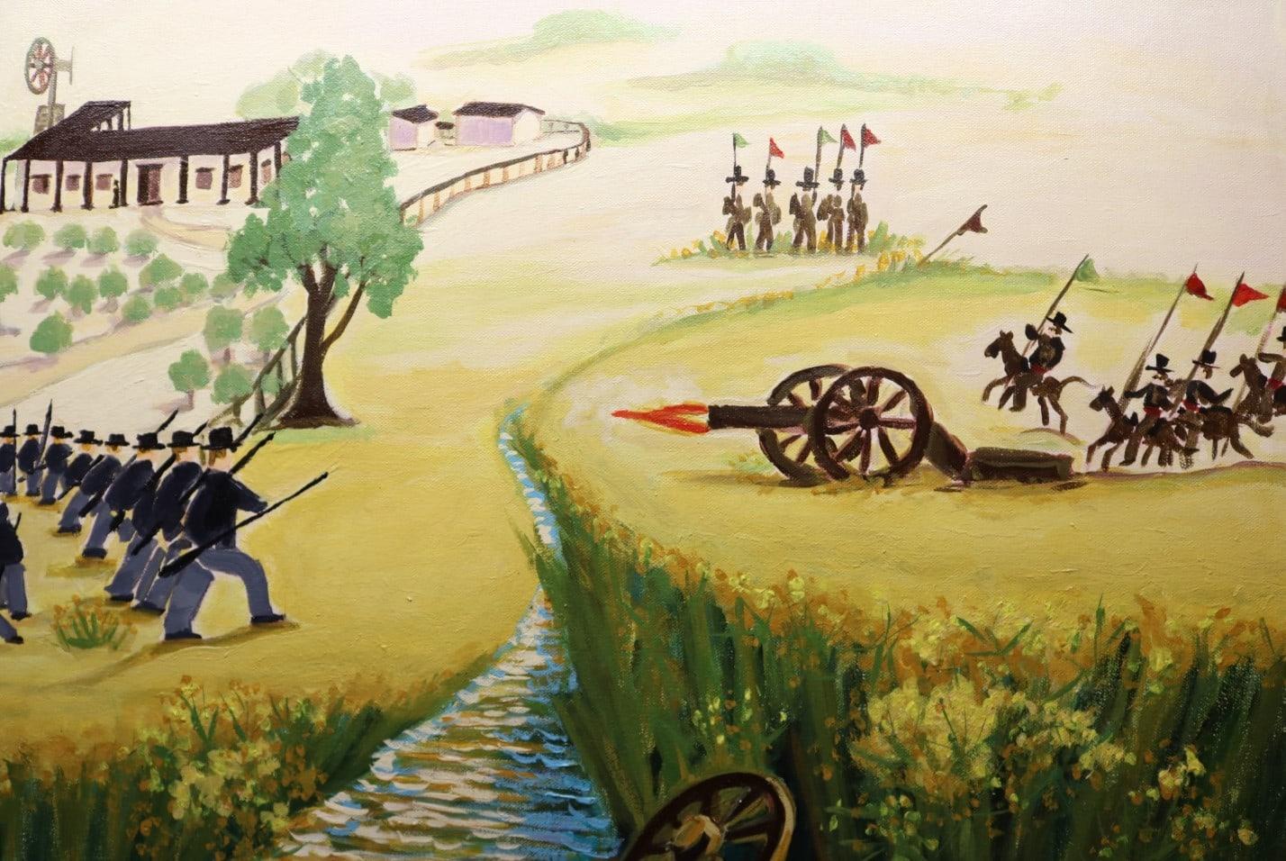 The Battle of Dominguez